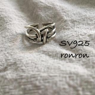 トゥデイフル(TODAYFUL)のSV925 デザインリング#02 ete アダムエロペ イエナ ザラ(リング(指輪))