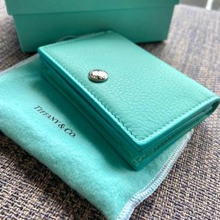 Tiffany & Co. - 【新品】ティファニー カードケース