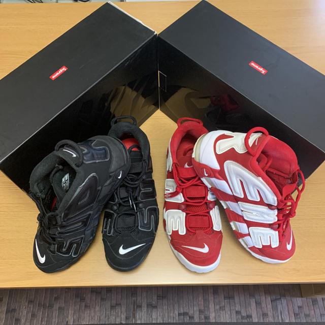 Supreme(シュプリーム)のYK-KI.T様専用 赤 シュプテン メンズの靴/シューズ(スニーカー)の商品写真