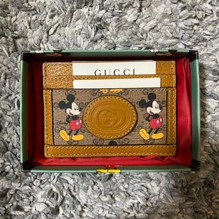 グッチ(Gucci)のgucci × Disney カードケース 定期入れ(名刺入れ/定期入れ)