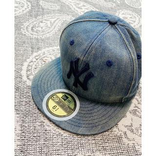 NEW ERA - ⭐︎New Era キッズ⭐︎ 54cm 帽子/デニムキャップ/ 美品