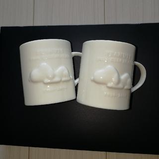 SNOOPY - スヌーピーペアマグカップ