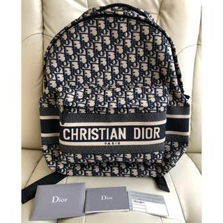 クリスチャンディオール(Christian Dior)のディオールオブリークバックパック(リュック/バックパック)