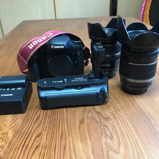 Canon - Canon EOS7D レンズ 縦型グリップセット