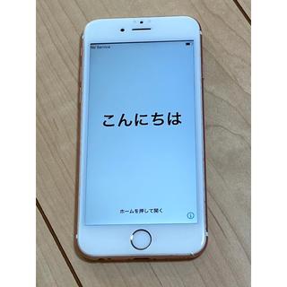 Apple - iphone 6s ローズゴールド 64GB  SIMフリー