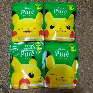 ポケモン - ピュレグミ ピカチュウ ピカピュレ でんげきトロピカ味 ポケモン 全4種
