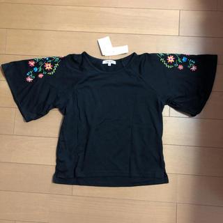 グローバルワーク(GLOBAL WORK)のGLOBAL WORK kids 袖刺繍カットプルオーバー XXL(Tシャツ/カットソー)