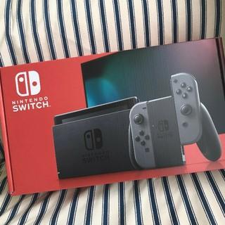 Nintendo Switch - Nintendo Switch スイッチ グレー 本体 新品 新型