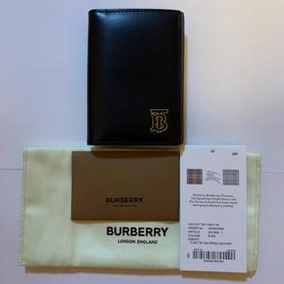 バーバリー(BURBERRY)の新品未使用 BURBERRY バーバリー 名刺入れ カードホルダー 黒(名刺入れ/定期入れ)