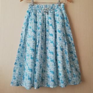 merlot - 【新品】アルパカいっぱいスカート