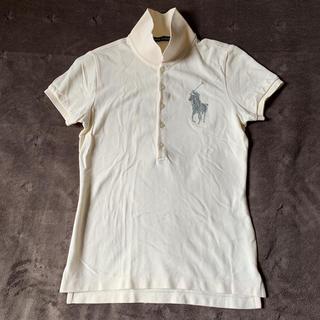 ラルフローレン(Ralph Lauren)の【美品】ラルフローレン  ビーズ ポロシャツ  xs(ポロシャツ)