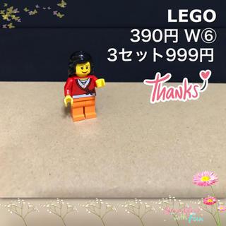 Lego - LEGO ミニフィグ W⑥ ウーマン ママ お母さん 黒髪