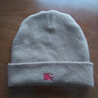 バーバリー(BURBERRY)のBurberry 子供用ニット帽子(帽子)