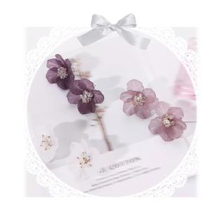 Ank Rouge - 【新作♡】୨୧ 椿の花びらピアス ୨୧