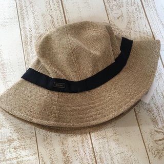IENA SLOBE - オーシバル 帽子 ベージュ 未使用