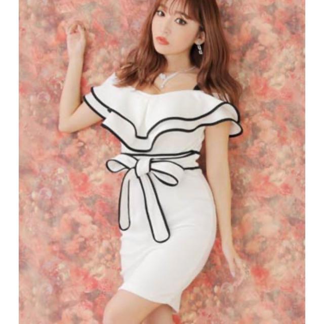 dazzy store(デイジーストア)のdazzyミニドレスタグ付き    レディースのフォーマル/ドレス(ミニドレス)の商品写真
