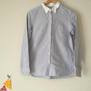 ムジルシリョウヒン(MUJI (無印良品))の無印良品・ストライプシャツ(シャツ/ブラウス(半袖/袖なし))