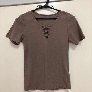 GRL - グレイル レースアップTシャツ