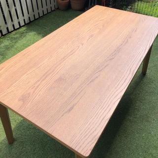 ウニコ(unico)のヨンゲ様専用unico ダイニングテーブル 160×80 高さ72(ダイニングテーブル)