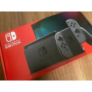 Nintendo Switch - Nintendo Switch スイッチ グレー 新型 新品 本体 任天堂