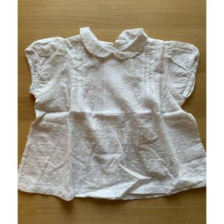 Caramel baby&child  - 新品 little  cotton clothes ドッドブラウス 2-3y