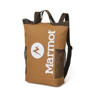 マーモット(MARMOT)のMonoMax8月号◆マーモット◆背負える保冷バッグ(バッグパック/リュック)