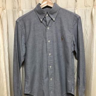 ラルフローレン(Ralph Lauren)のRALPH LAUREN OXFORD シャツ グレー Sサイズ(Tシャツ/カットソー(七分/長袖))