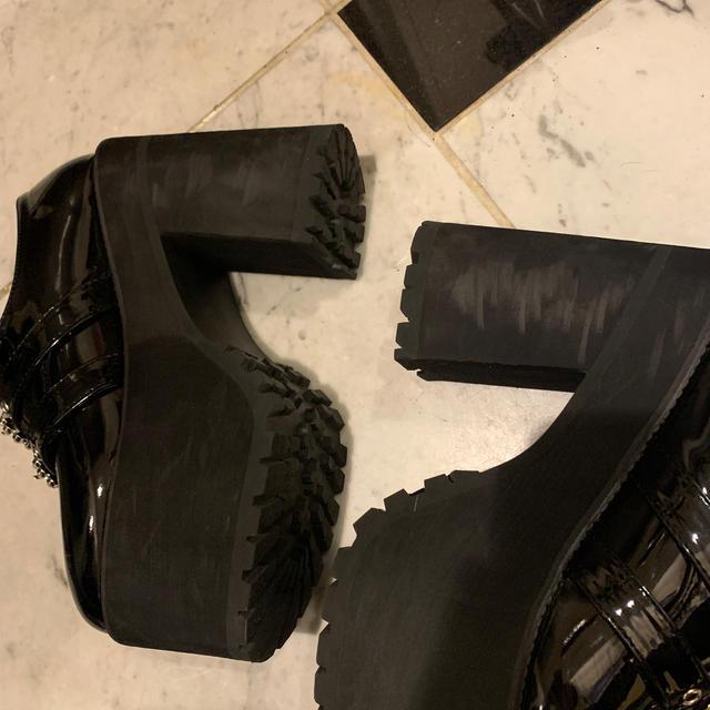 Bubbles(バブルス)のbubbles 厚底シューズ レディースの靴/シューズ(ローファー/革靴)の商品写真