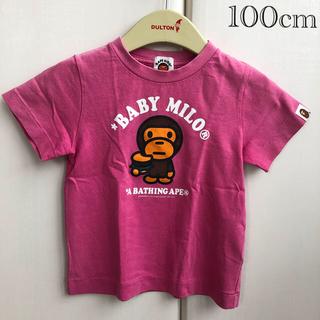 アベイシングエイプ(A BATHING APE)のBAPE KIDS by a bathing ape T-shirt①(Tシャツ/カットソー)