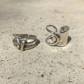 Maison Martin Margiela - Width Surface Knot & Chain ring No.10