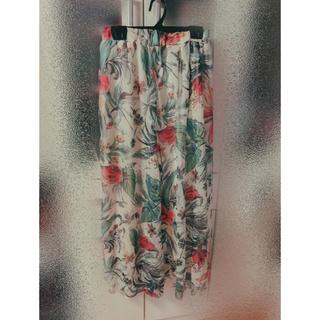 グレイル(GRL)のGRL 花柄 スカート(ロングスカート)