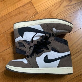 NIKE - NIKE AIR JORDAN 1 TRAVIS SCOTT  27.5cm