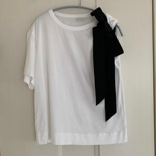 ドリスヴァンノッテン(DRIES VAN NOTEN)のドリスヴァンノッテン リボンカットソー(Tシャツ(半袖/袖なし))