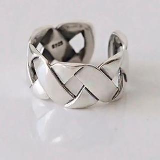 TODAYFUL - ボリュームチェーンリング 指輪 シルバーリング