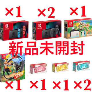Nintendo Switch - 任天堂 Switch  本体 ネオン グレー あつまれどうぶつの森 lite