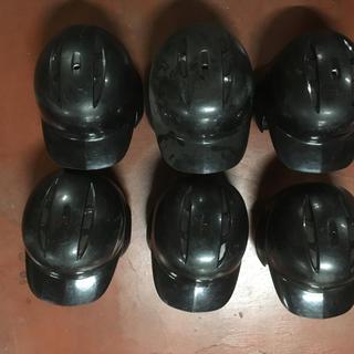 ゼット(ZETT)の野球 一般軟式ヘルメット ZETT ブラック(防具)