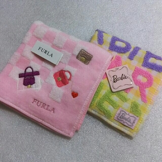 Furla - フルラ&バービー☆タオルハンカチ2枚セット