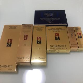 イヴサンローランボーテ(Yves Saint Laurent Beaute)のブランドの空箱 イヴ・サンローラン、Dior(その他)