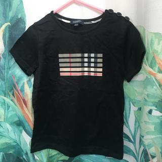 BURBERRY - Tシャツ バーバリー   美品 120  黒