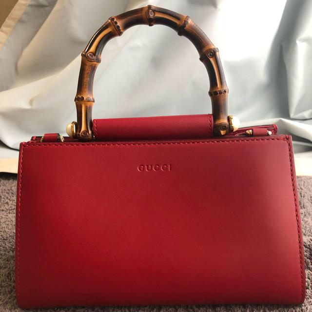 Gucci(グッチ)の【お値下❣️】GUCCIグッチ バンブー2wayバッグ レディースのバッグ(ハンドバッグ)の商品写真