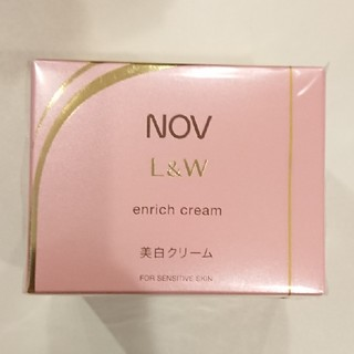 NOV - NOV ノブ L&W エンリッチクリーム 美白クリーム