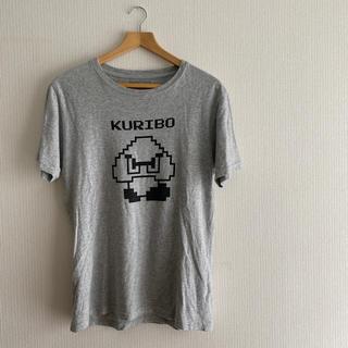 ニンテンドウ(任天堂)のスーパーマリオ(Tシャツ/カットソー(半袖/袖なし))