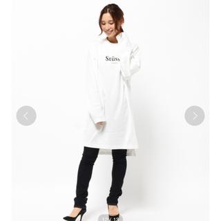 ステューシー(STUSSY)の【値下げ】Stussy Designs Big Dress ステューシーウーマン(Tシャツ(長袖/七分))