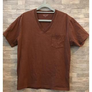 アダムエロぺ(Adam et Rope')のAdam et Rope' ポケット付きVネックTシャツ(Tシャツ/カットソー(半袖/袖なし))