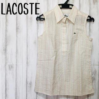 ラコステ(LACOSTE)のLACOSTE ノースリーブシャツ(シャツ/ブラウス(半袖/袖なし))