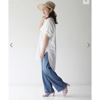 IENA SLOBE - SLOBE IENA ビッグチュニックTシャツ