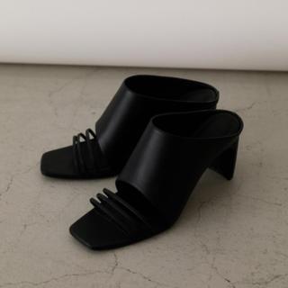 Ameri VINTAGE - RIM.ARK. Square heel Black