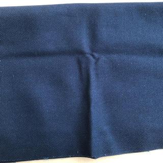 オリンパス(OLYMPUS)のオリンパス刺繍布 コングレスNO.1100  88×50cm 濃紺 こぎん刺し他(生地/糸)