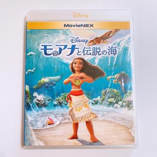 Disney - モアナと伝説の海 ブルーレイのみ 純正ケース付き! 美品 ディズニー アニメ