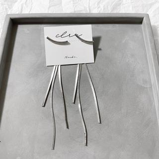 アメリヴィンテージ(Ameri VINTAGE)の〝再販〟silver925 スネーク チェーン ロングピアス (ピアス)